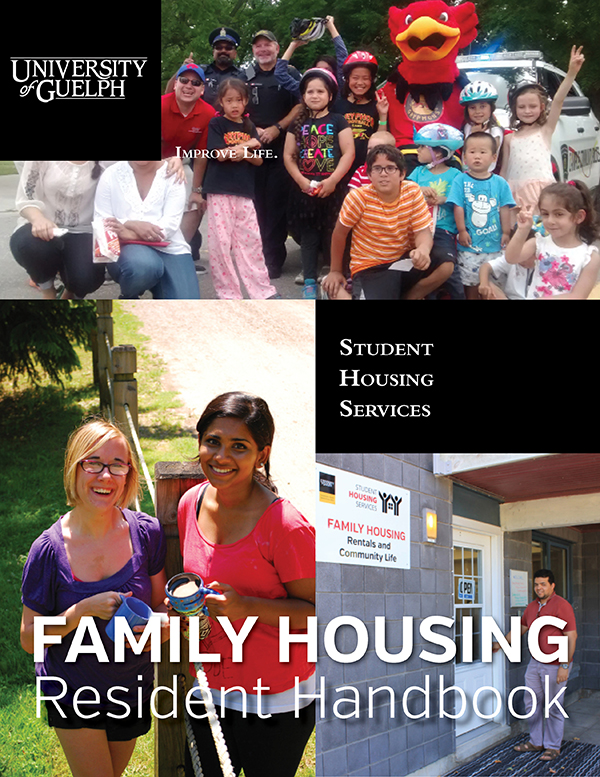 Download our Family Housing Handbook