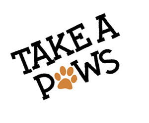 Take a Paws Logo