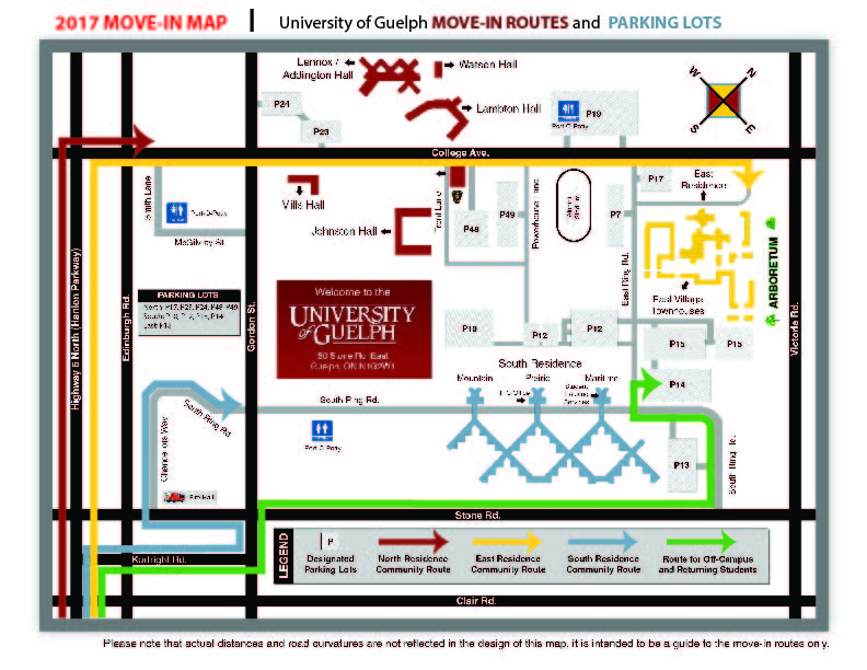 2017 Move-in Map