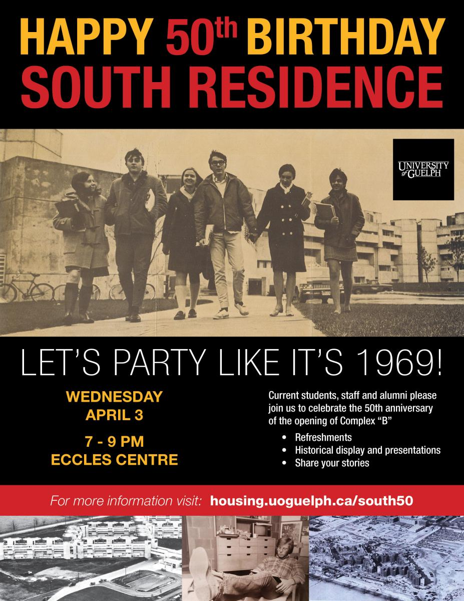 South 50th Poster