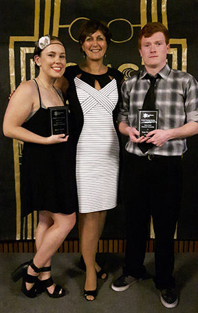 Shelby and Ryan Award Winners