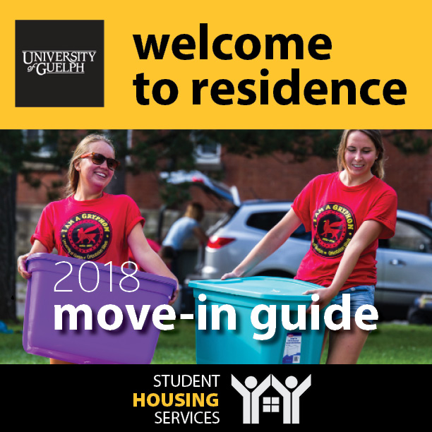 Cover of Move-In Guide 2017