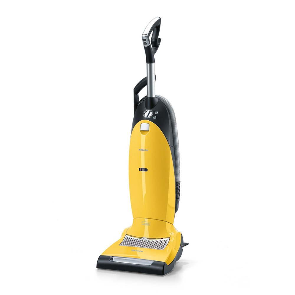 Picture of a gold coloured vacuum.