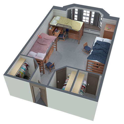 Mizzou Dorm Room Rental